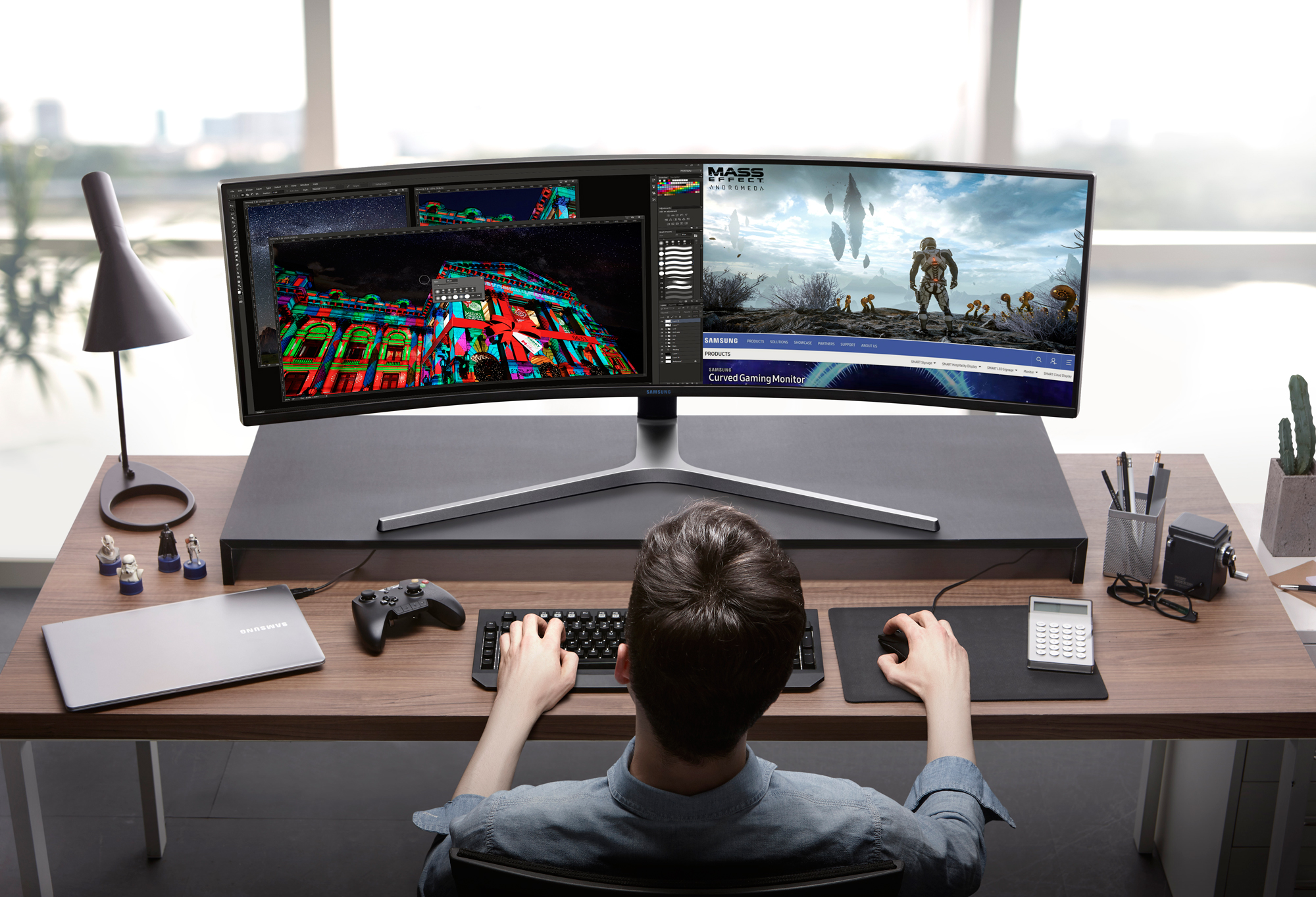 Samsung Ultrawide C49HG90 Gaming Monitor