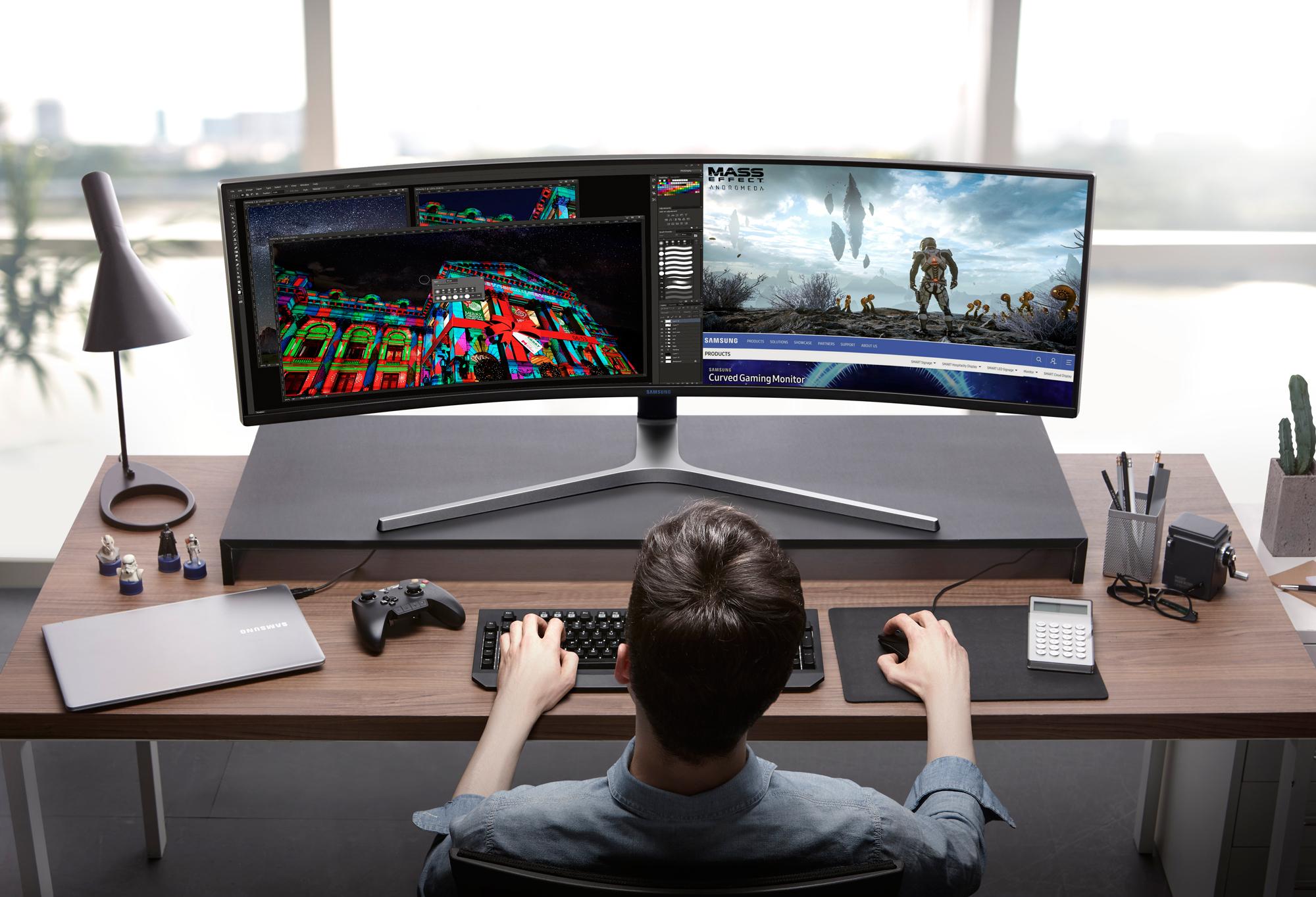 Samsung Ultrawide C49HG90 Gaming Monitor