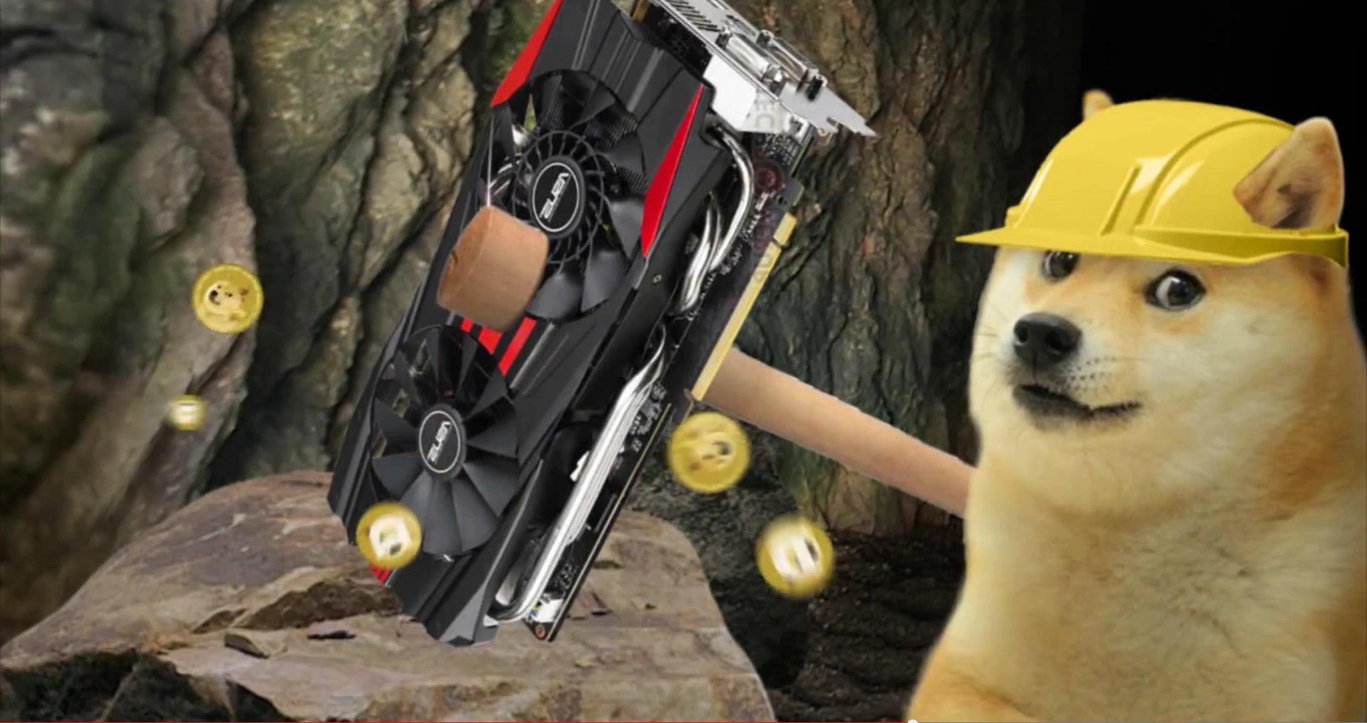 Ethereum Mining Nvidia AMD Dogecoin Ether