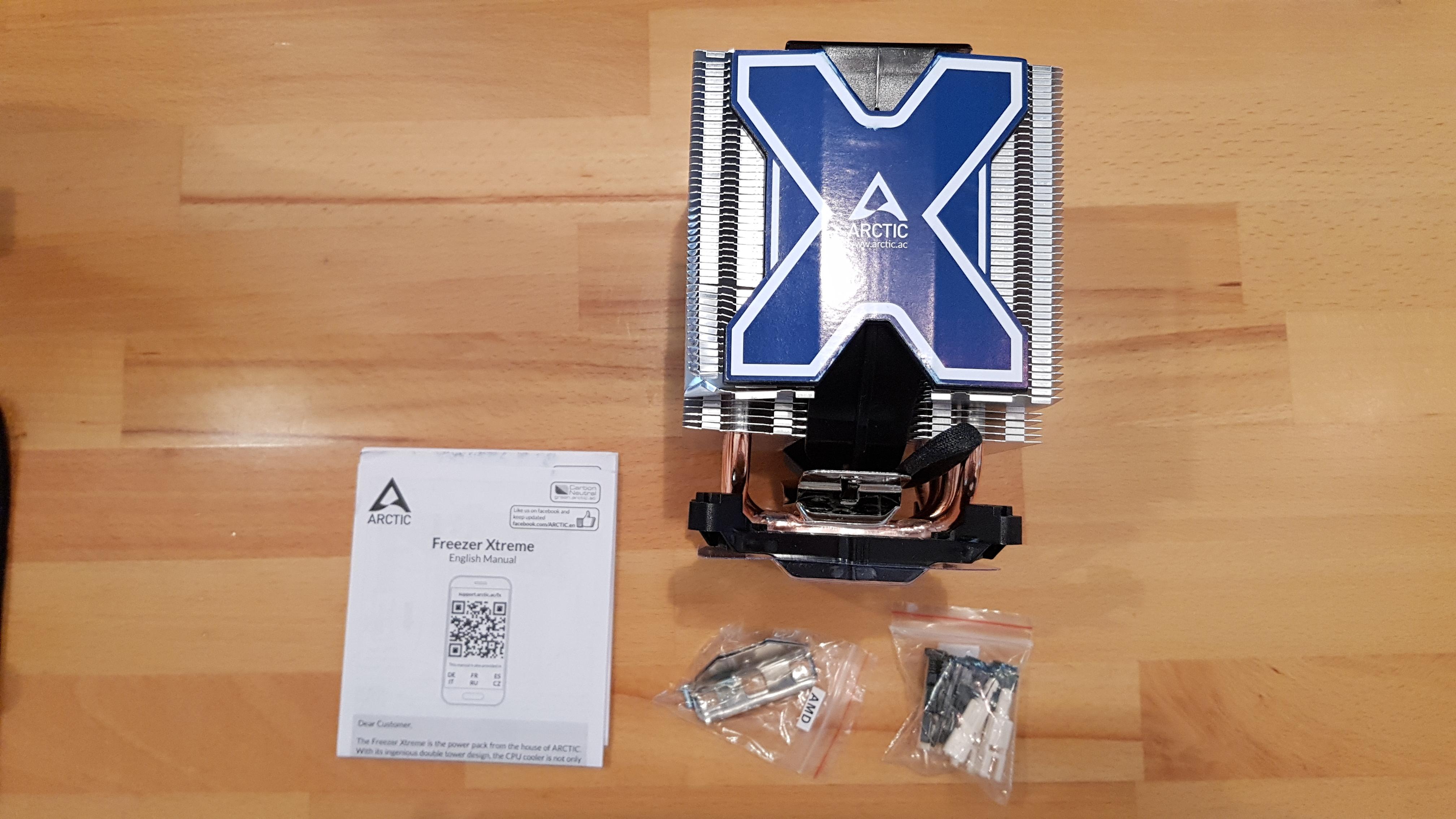Arctic Freezer Xtreme Test