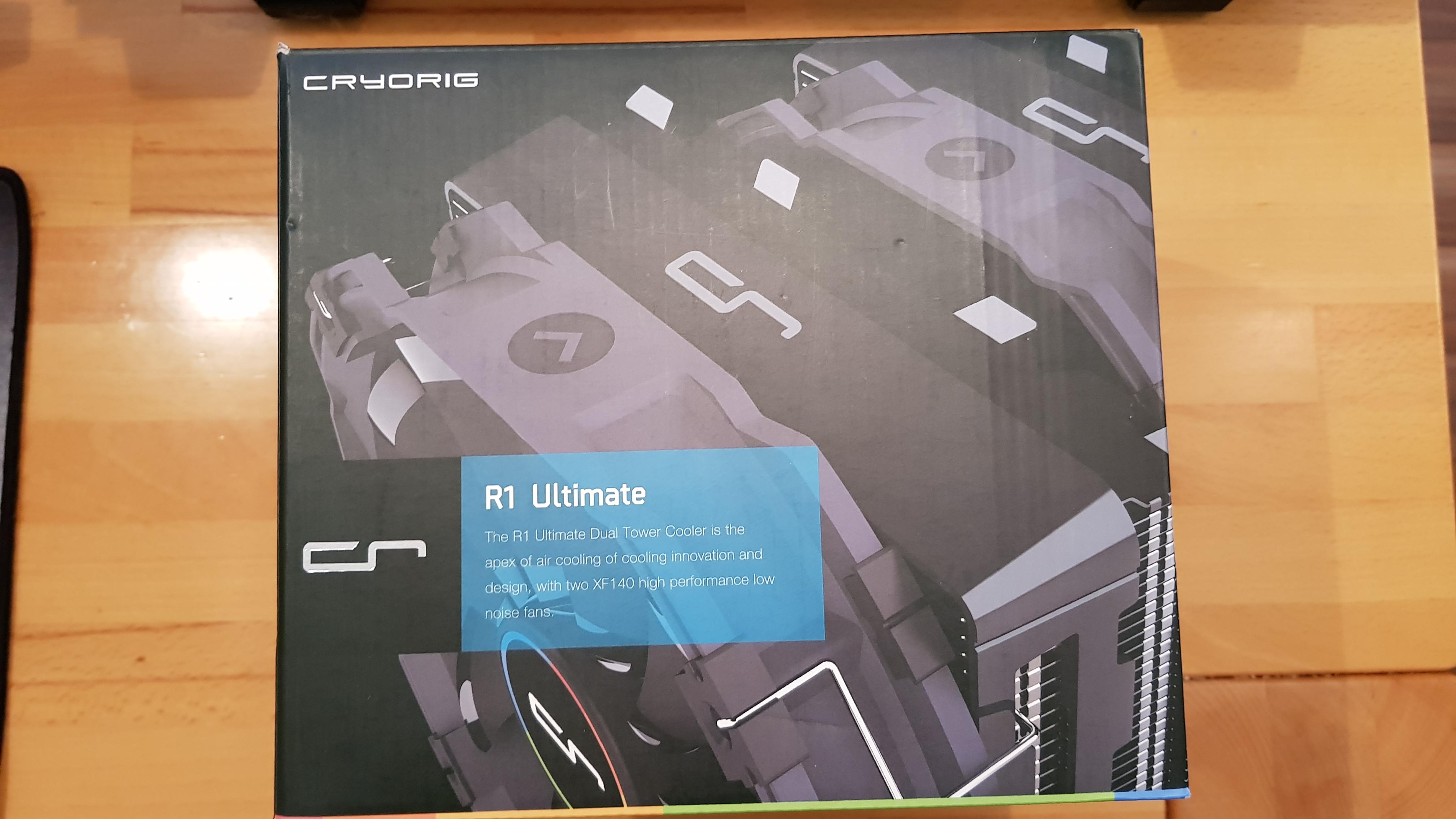 Cryorig R1 Ultimate Test