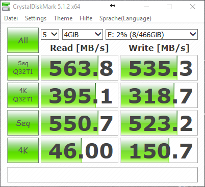 NVMe vs AHCI WD Blue