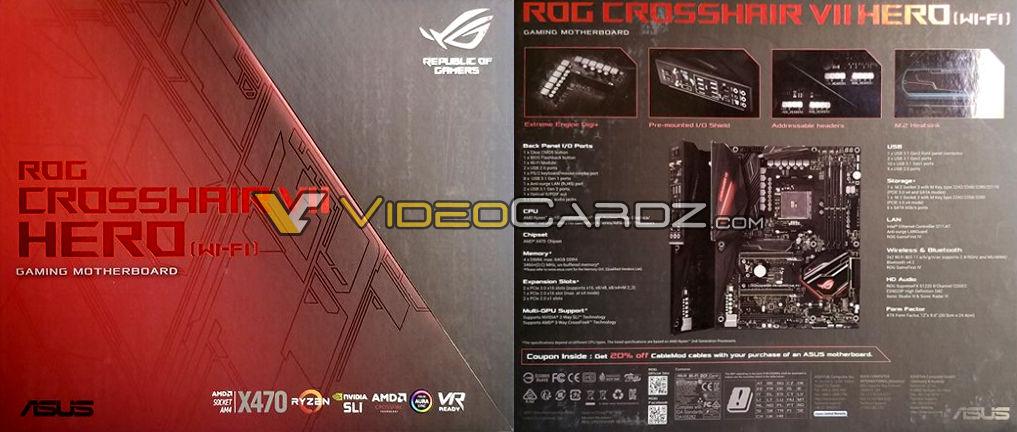 ASUS ROG Crosshair VII Hero X470