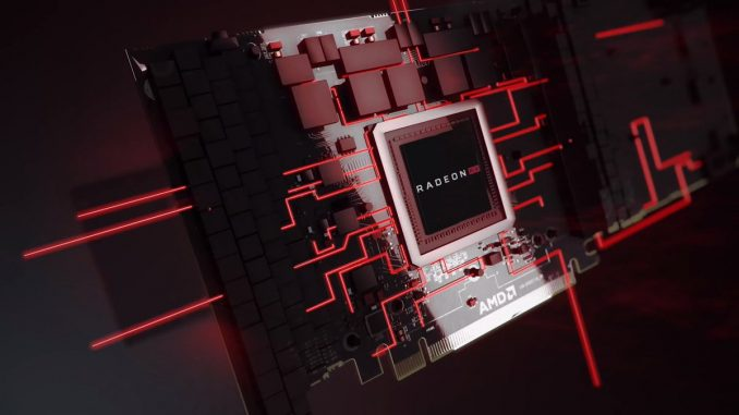 Radeon Navi: Flagship allegedly performs just below the RTX