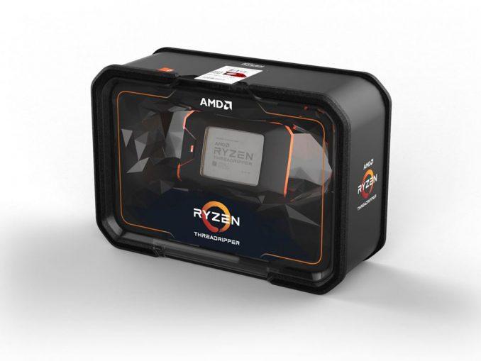 AMD Ryzen Threadripper 2990WX Package