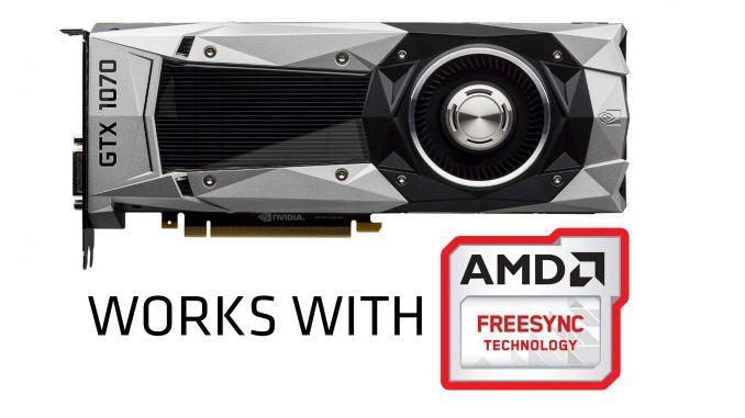 Nvidia GeForce works with FreeSync