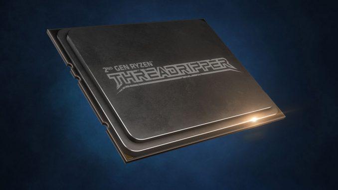 AMD Ryzen Threadripper 2000 Release 2990WX