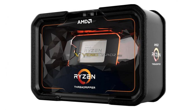 AMD Ryzen Threadripper 2000 Packaging