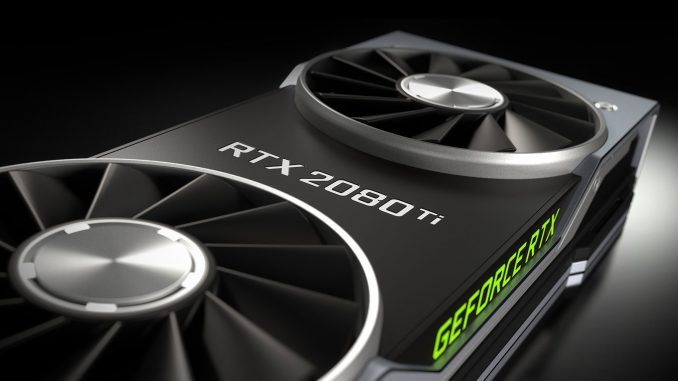 Nvidia RTX 2080 Ti Founders Edition