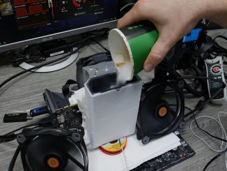 der8auer Nvidia Turing RTX 2080 Trockeneis