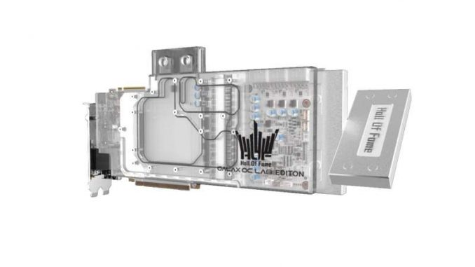 Galax RTX 2080 Ti HOF OC Lab WC Edition