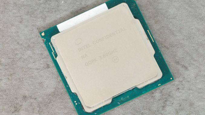 Intel Core i7-9700K: Website leakt komplettes Review, doch