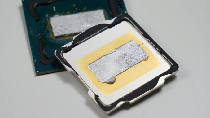 der8auer: delidding the Intel Core i9-9900K results in much