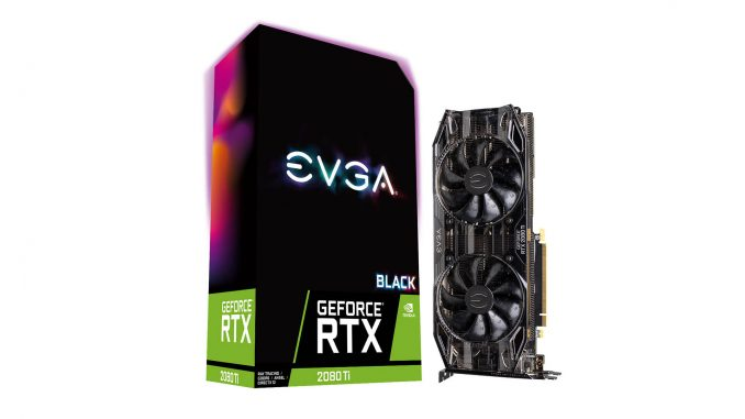 EVGA RTX 2080 Ti Black Edition Gaming