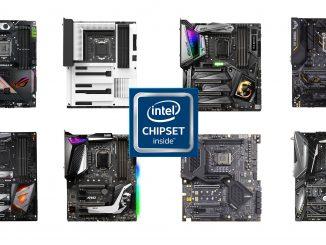 Intel Z390 Asus NZXT MSI EVGA Gigabyte ASRock