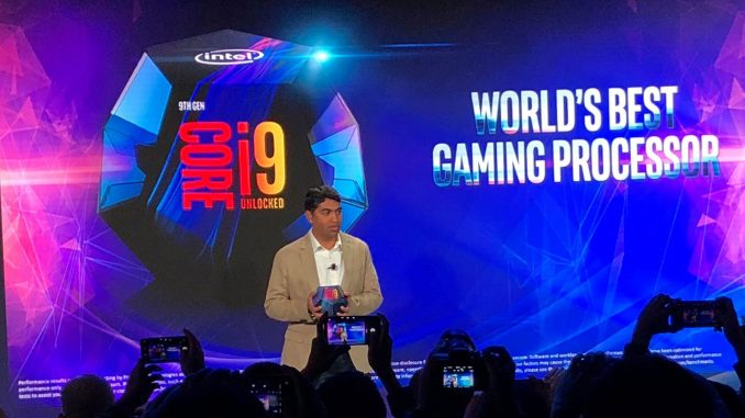 Intel Core i9 9900K Launch Event