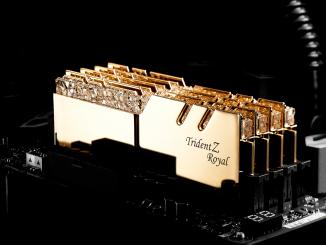 G.Skill Trident Z Royal RGB Gold Samsung B-Die