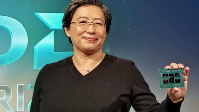 AMD boss Lisa Su to become Intel CEO, Intel will buy AMD for