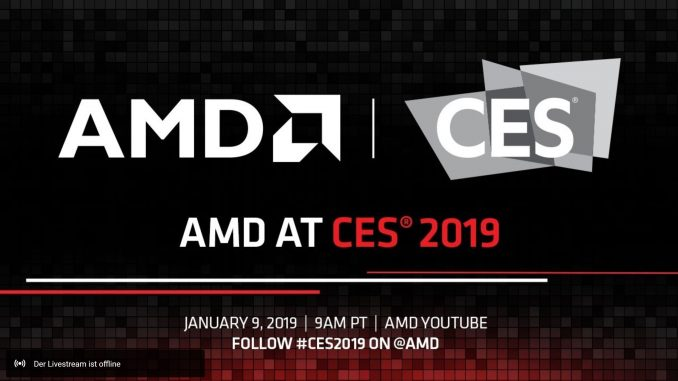 AMD CES 2019 Livestream