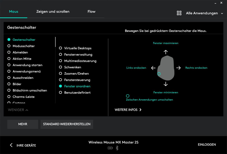 Logitech Options Logitech MX Vertical vs. MX Master 2S