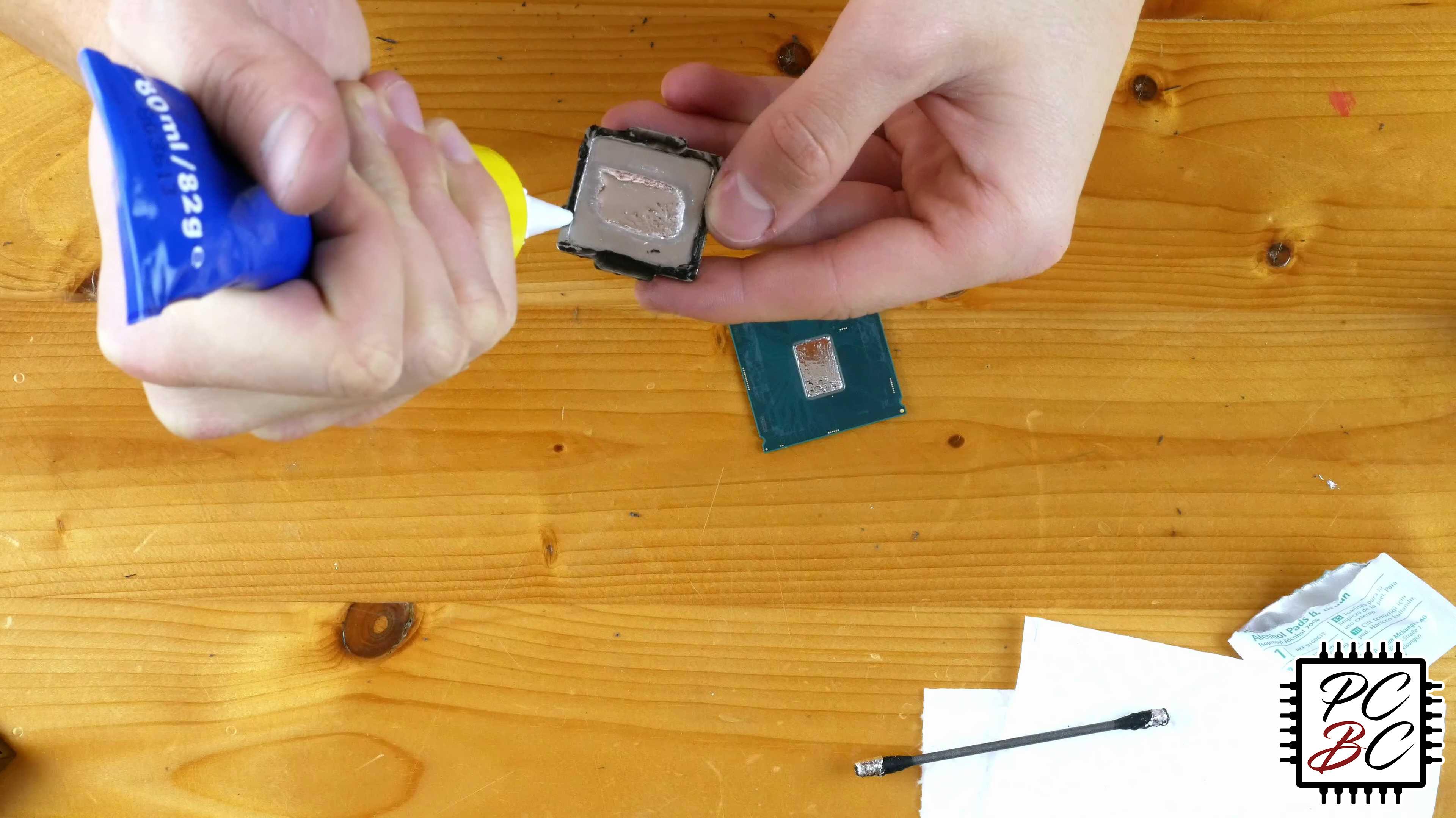 der8auer Delid Die Mate 2 Prozessor Köpfen