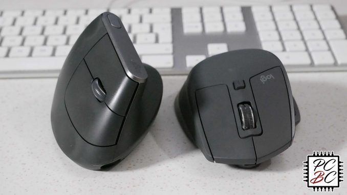 Logitech MX Vertical vs  MX Master 2S tested - ergonomics vs