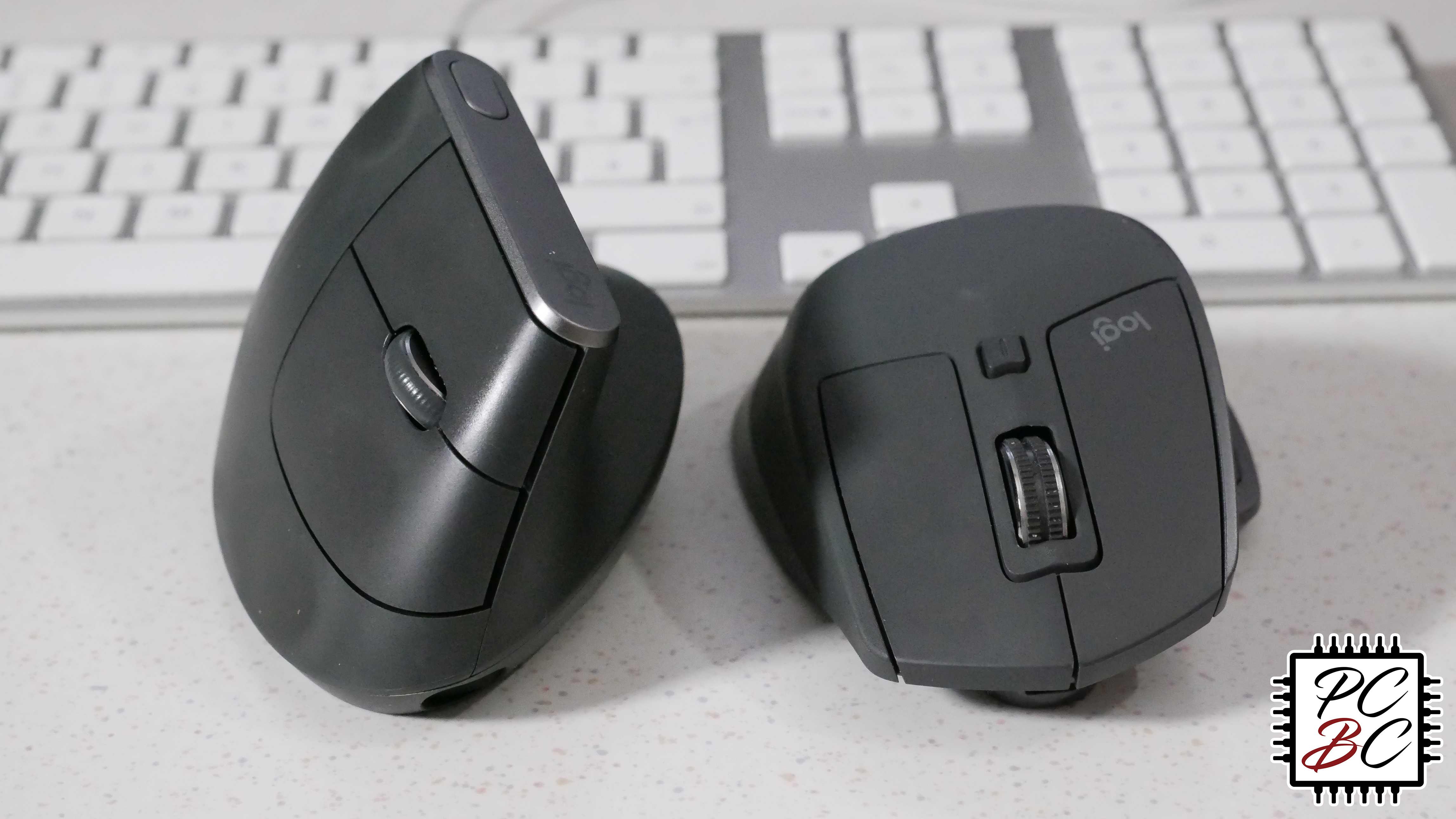 Logitech MX Vertical vs. MX Master 2S