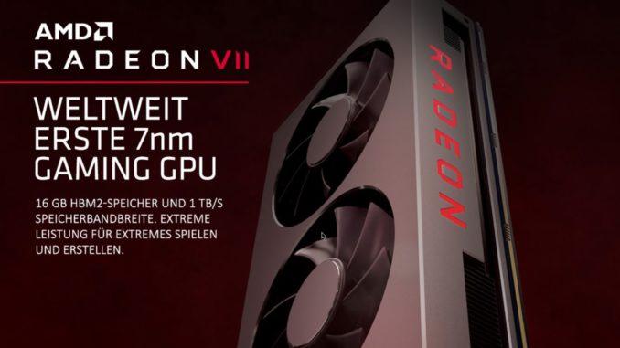 AMD Radeon VII Launch