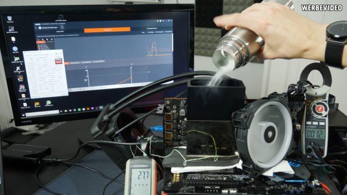 der8auer AMD Radeon VII Overclocking