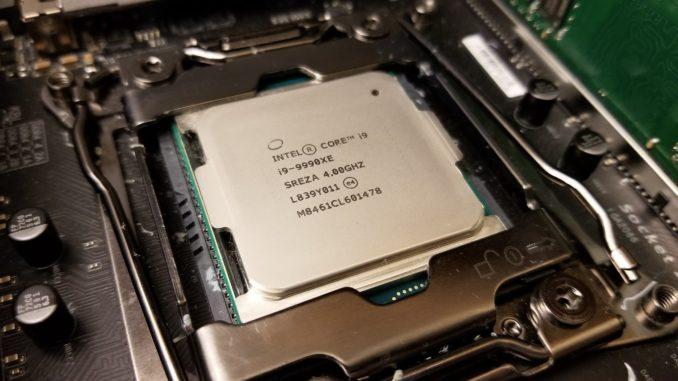 Intel Core i9-9990XE Puget Systems Matt Bach