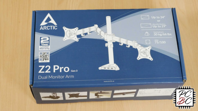 Arctic Z2 Pro Gen 3 Monitorhalter