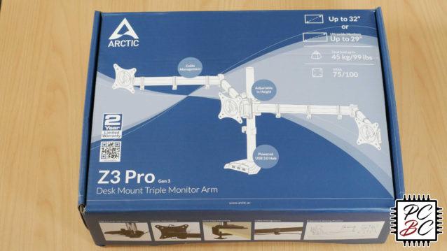 Arctic Z3 Pro Gen 3 Monitorhalter