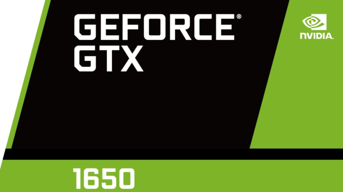 MSI GeForce GTX 1650 Gaming X with 4 gigabytes of memory appeared