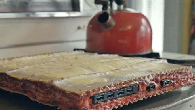 Pasta PC: Artists builds working PC into a lasagna | PC Builder's Club