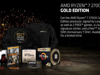AMD 50th Anniversary Ryzen 7 2700X Gold Edition