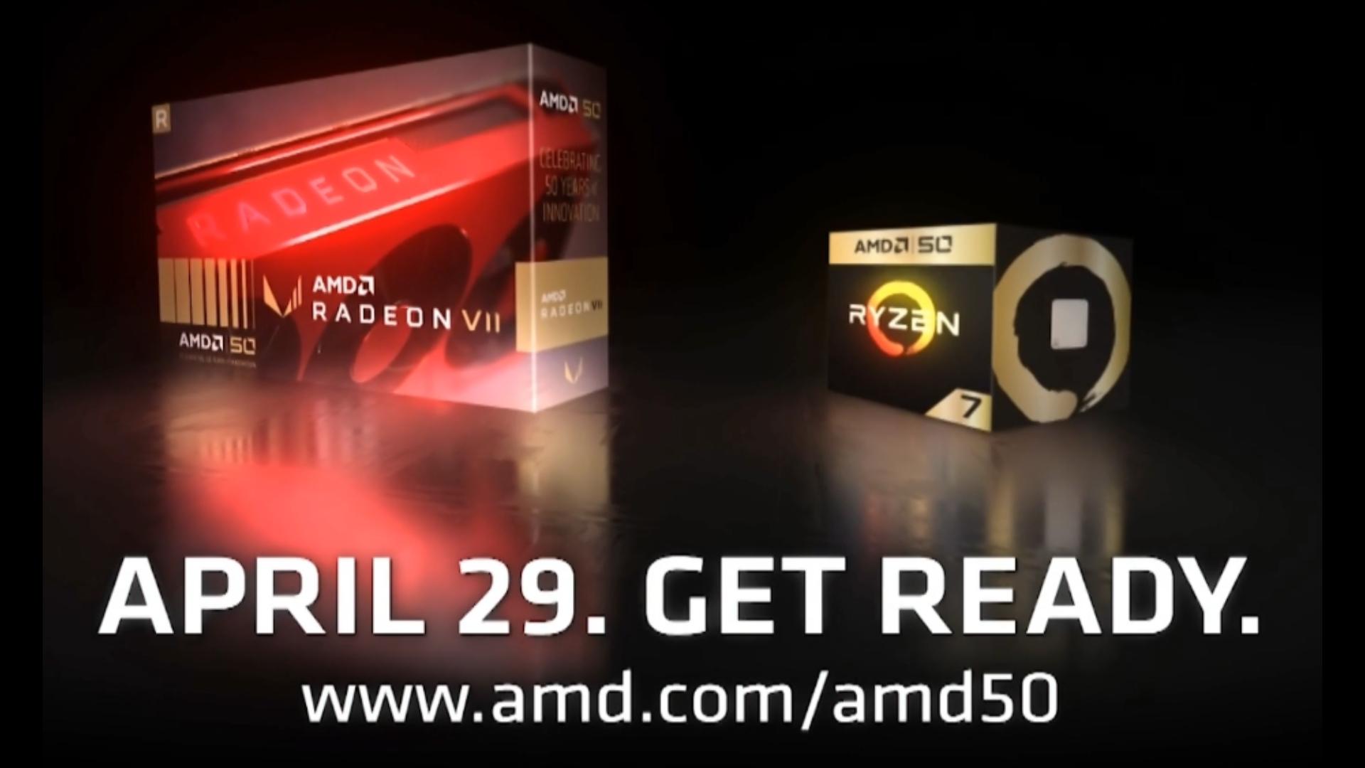 AMD Radeon VII 50th Anniversary Edition