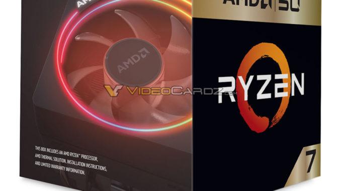 AMD Ryzen 7 2700X 50th Anniversary Edition Leak