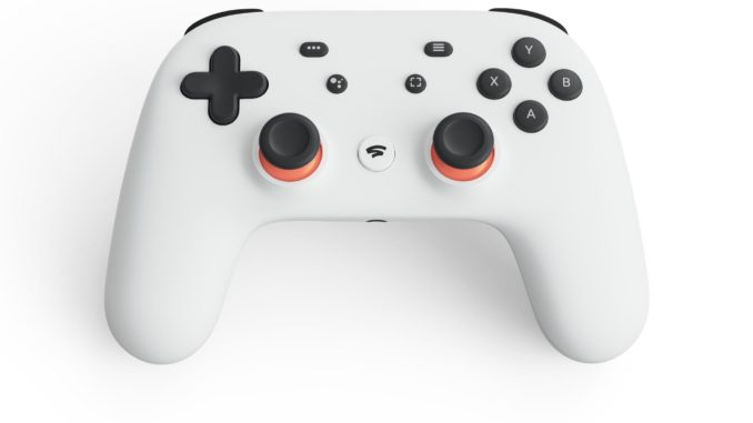 Google Stadia Cloud Gaming Controller