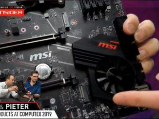 MSI AMD X570 Ryzen 3000 Lüfter Fan