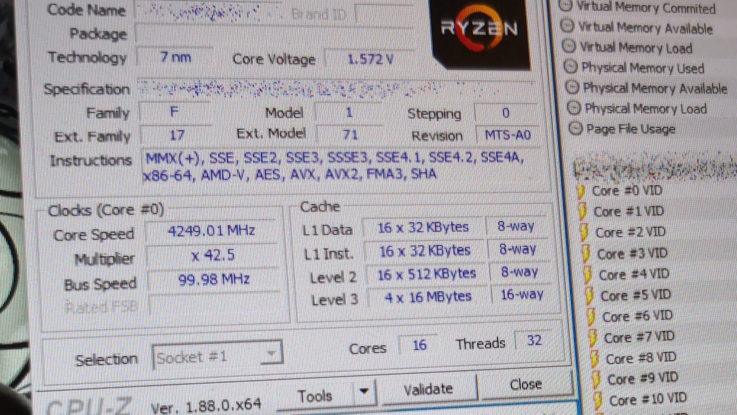 AMD Ryzen 3000 16 Core Computex 2019 Cinebench R15 Leak
