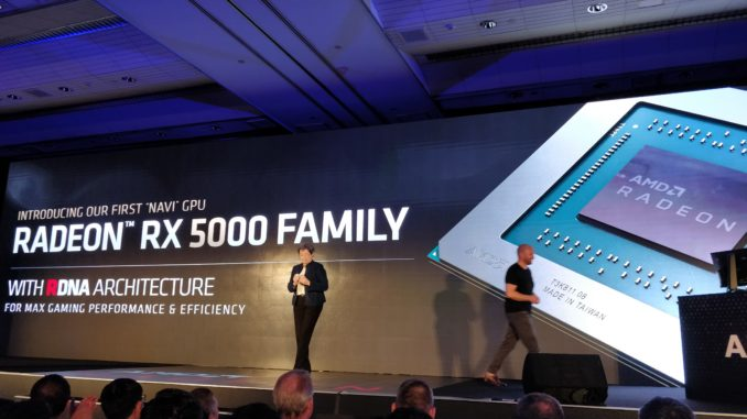 AMD Navi RX 5700 Launch