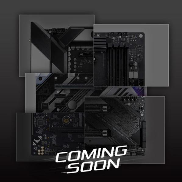 Asus X570 Teaser Ryzen 3000