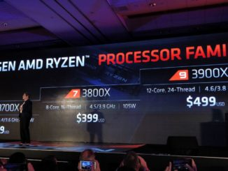 Ryzen 3000 Launch Prices Ryzen 9 3900X Ryzen 7 3800X Ryzen7 3700X