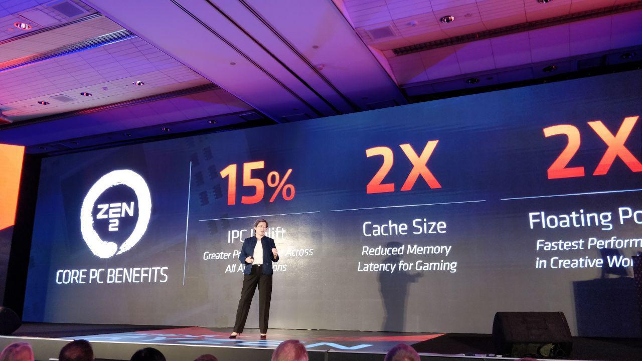 Zen 2 Computex 2019 Performance Increase Ryzen 3000