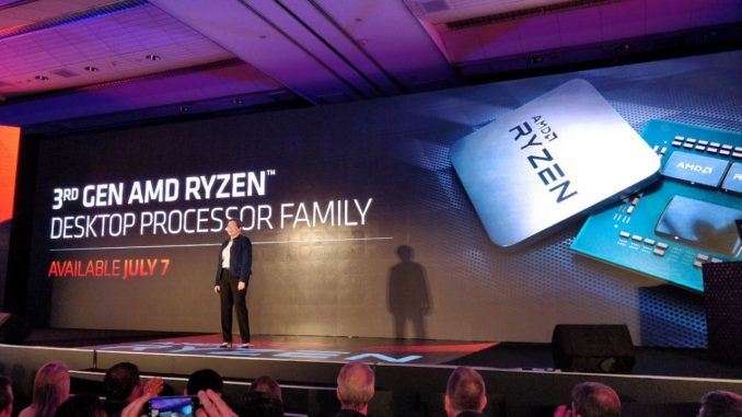 AMD Ryzen 3000 Computex 2019 Keynote