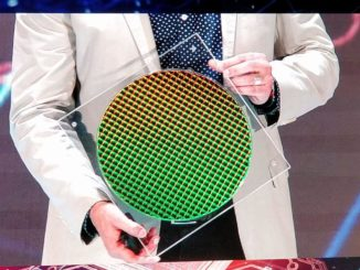 Intel Ice Lake 10nm Wafer Computex 2019