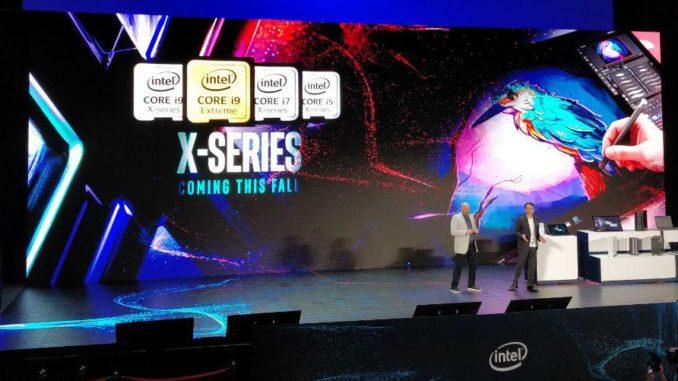 Intel Core X Cascade Lake-X Computex 2019
