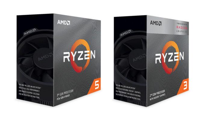 AMD Ryzen 5 3400G AMD Ryzen 5 Ryzen 3 Box