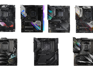 AMD X570 Mainboards from ASRock, Asus, Gigabyte and MSI