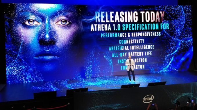 Intel Project Athena Computex 2019